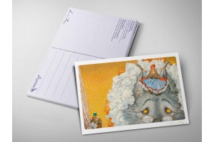 Почтовая открытка «Красная шапочка. Бабушка, почему у тебя такие большие уши?», Антон Ломаев