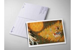 Почтовая открытка «Красная шапочка», Антон Ломаев