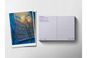 Почтовая открытка «Принцесса на горошине. Сон», Антон Ломаев
