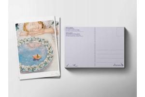Почтовая открытка «Дюймовочка. Мечты», Антон Ломаев