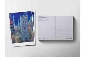 Почтовая открытка «Маленький мук. Ночной Багдад», Антон Ломаев