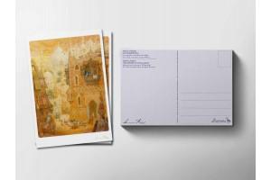 Почтовая открытка «Маленький мук. Багдад», Антон Ломаев