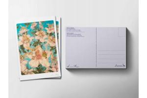 Почтовая открытка «Дюймовочка и принц», Антон Ломаев
