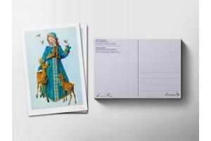 Почтовая открытка «Снегурочка», Антон Ломаев