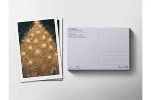 Почтовая открытка «Елка», Антон Ломаев