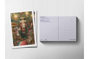 Почтовая открытка «Щелкунчик», Антон Ломаев