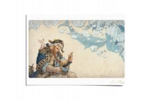 Почтовая открытка по мотивам сказки «Колыбельная для маленького пирата», Антон Ломаев