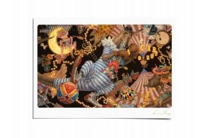 Почтовая открытка по мотивам сказки «Бом-Бом-Бом», Антон Ломаев