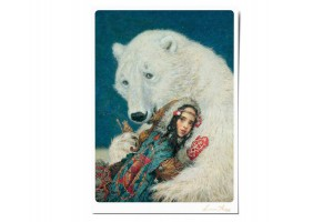 Почтовая открытка по мотивам сказки «Восток», Антон Ломаев