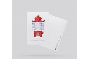 Открытка почтовая «Электрический маячный аппарат»