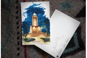 Почтовая открытка «маяк Колобжег» (Польша)