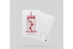 Почтовая открытка «маяк Фридрихштадтский» (Кронштадт)