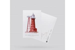 Почтовая открытка «маяк Нижний Николаевский» (Кронштадт)