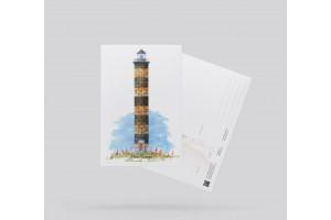 Открытка почтовая «Маяк Пильтун» (о. Сахалин)