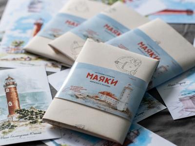 Набор открыток «маяки Финского залива»