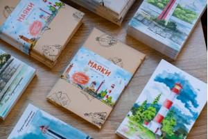 Набор открыток «маяки Финского залива 2»