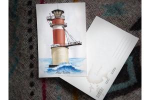 Почтовая открытка «маяк Таллинн» (Финский залив. Эстония)