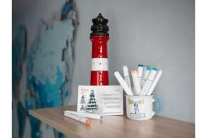 Почтовая открытка «маяк Канинский» (Баренцево море. Россия)