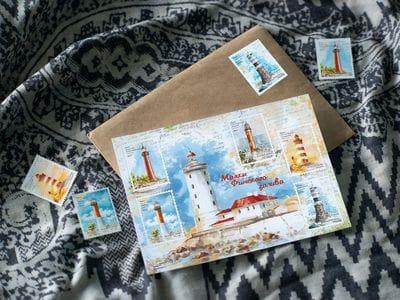 Стикерпак «маяки Финского залива» на 5 стикеров