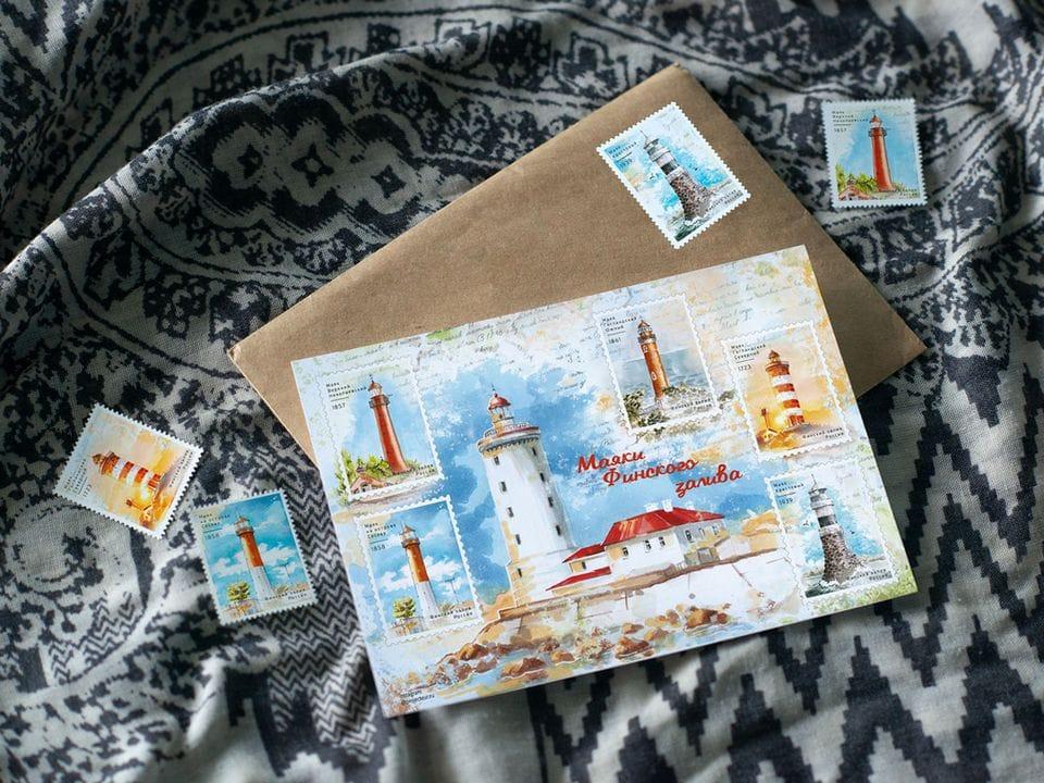 Наклейки «маяки Финского залива» на 5 стикеров