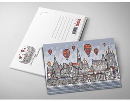 Почтовая открытка «Панорама»