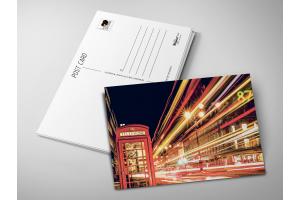 Почтовая открытка «Лондонский телефон»