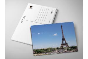 Почтовая открытка «Эйфелева башня»