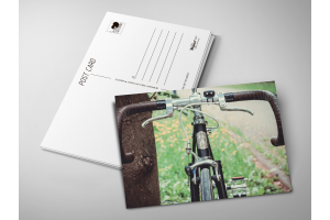 Почтовая открытка «Велосипед»