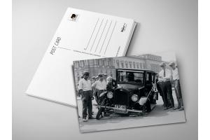 Почтовая открытка «Авария»