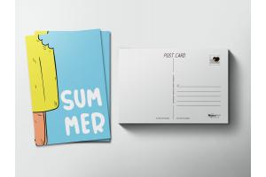 Почтовая открытка «Summer»