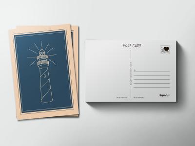 Почтовая открытка «Маяк»