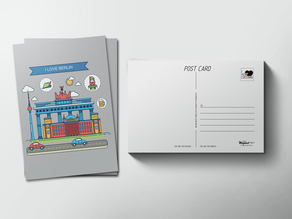 Почтовые открытки для посткроссинга интернет