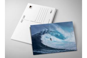 Почтовая открытка «Поймать волну»