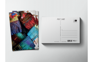Почтовая открытка «Кисти в краске»