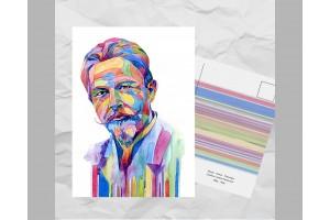 Почтовая открытка из серии «Писатели и поэты: Чехов А. П.»