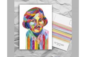 Почтовая открытка из серии «Писатели и поэты: Гоголь Н. В.»