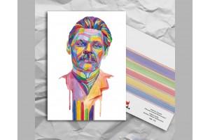 Почтовая открытка из серии «Писатели и поэты: Горький М.»