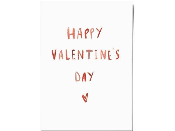 Открытка «Valentine's day». O paper paper