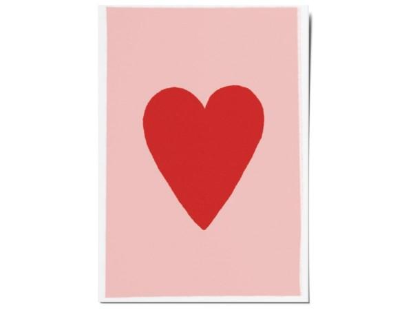 Открытка «Сердце». O paper paper