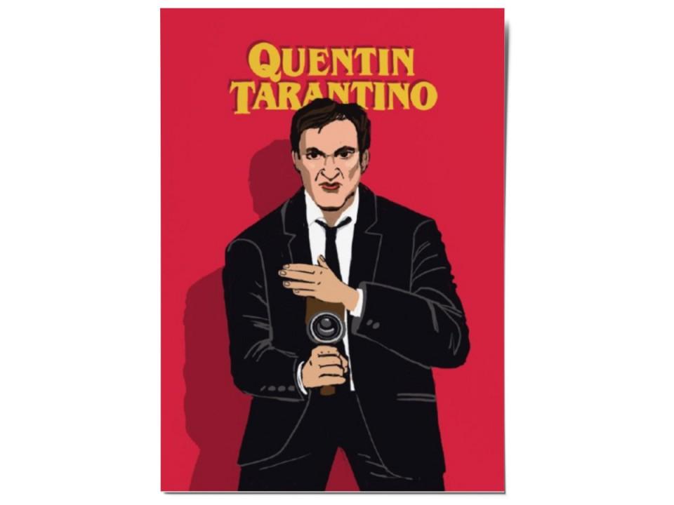 Авторская почтовая открытка «Тарантино». O paper paper