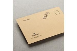 Почтовая открытка «Из Петербурга с апатией»
