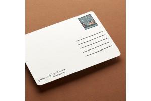 Почтовая открытка «Поливает с 1703 года»
