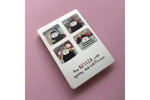 Почтовая открытка «Из России с апатией»
