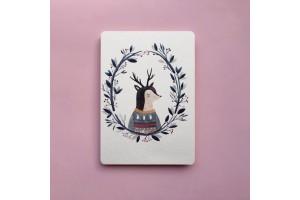 Почтовая открытка «Олененок»