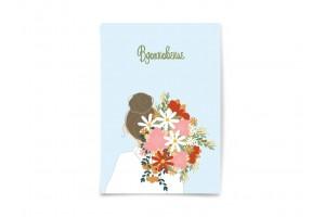 Почтовая открытка «Вдохновение», флористика