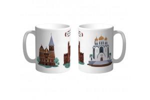 Кружка «Кафедральный собор и Храм» Калининград