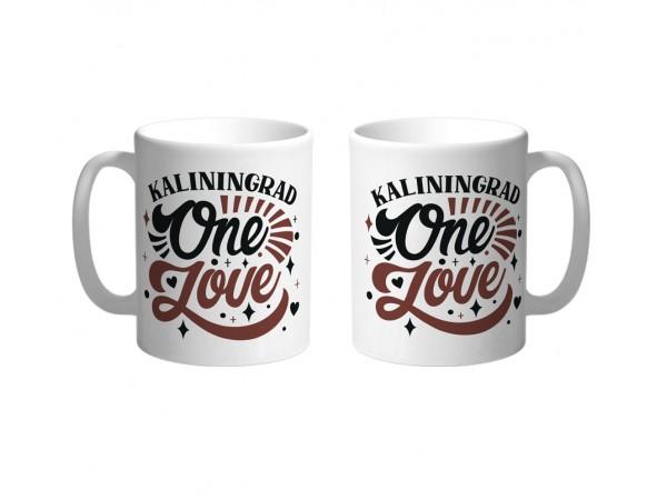 Кружка «One love» Калининград