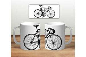 Кружка сувенирная «Велосипед. I want to ride»