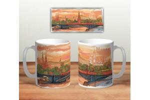 Кружка сувенирная «Панорама Москвы»