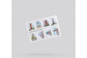 Стикерпак «маяки Финского залива» №1